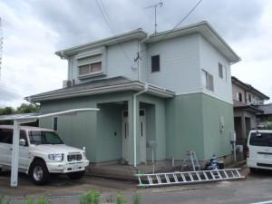 福岡県糟屋郡粕屋町T様邸   H23年9月完工:施工前