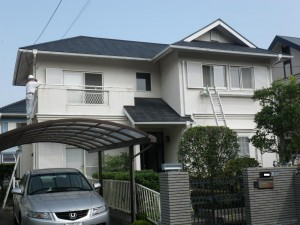 福岡県筑紫野市天拝坂H様邸    H24年3月完工:施工前