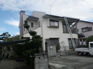 福岡県うきは市吉井町K様邸   H24年10月完工:施工前