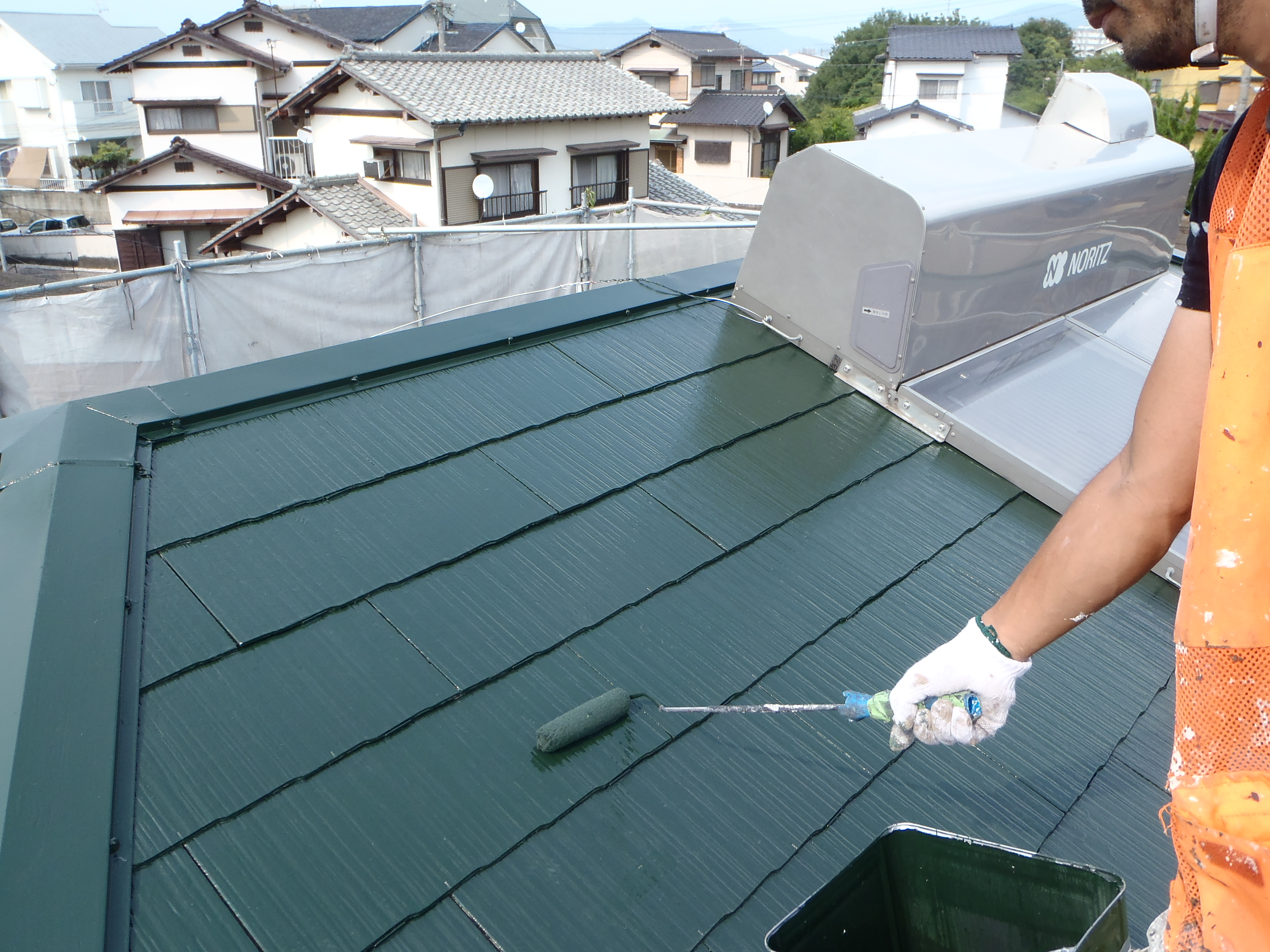 屋根塗装!!