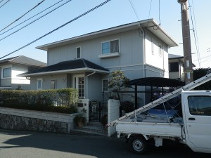 福岡市西区生松台T様邸       H24年11月完工:施工前