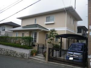福岡市西区生松台T様邸       H24年11月完工:施工後