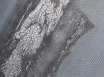 ドレイン近くの端末のコーキング亀の甲羅上にひび