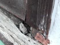 窓枠 木部劣化