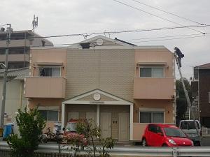 福岡市城南区片江N様アパート:施工前