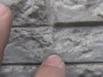 一階柱塗膜剥離