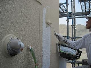 モルタル外壁の塗装
