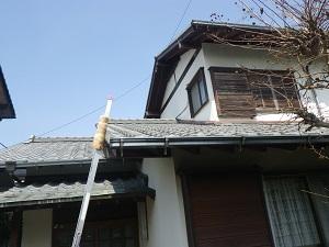 福岡市城南区樋井川S様【外壁:汚れの染み込みを防ぐ低汚染性の塗料で塗装】:施工前