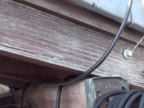 東 破風板 木部劣化