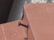 東面鋼板の釘うき - コピー