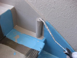 塗装のプロと防水のプロは別です。