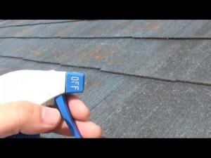 屋根 防水テスト