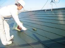 屋根上塗り2