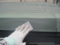 屋根鋼板ケレン
