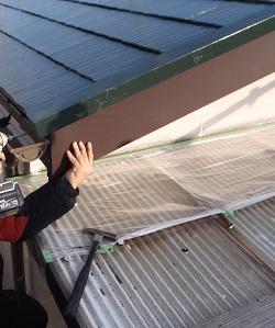 破風板のカバー工法について