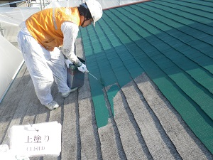 屋根の塗装について