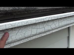樋 塗膜剥離