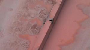 北鋼板屋根赤錆
