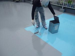屋上防水(ウレタン塗膜防水)について