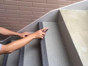 階段の工事について
