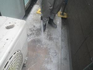 バルコニー床・FRP防水