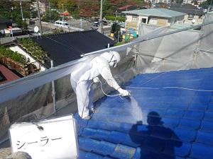 セメント瓦の塗装について