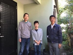 福岡市中央区H様(動画によるインタビュー)『職人さんは丁寧で紳士的な仕事をしてくれました。期待以上の仕事をしてくれました。』