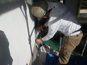 塗装工事前の養生について
