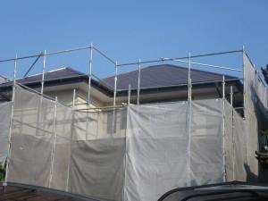 福岡県春日市塚原台K様【屋根素材:スレート瓦/酸性雨などから屋根を守り耐久性を上げる塗料で塗装】:施工後