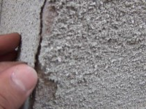 出窓 塗膜剥離