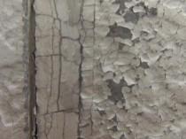 北 内壁 塗膜剥がれ