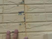 西 外壁 塗膜剥離