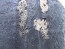 屋根の塗膜剥離