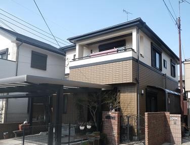 福岡市早良区 T様(動画によるインタビュー)『「幸せ」の素は安心です。家を建てて10年近く経てばプロの目の診断が大事だと思います。』:施工完了写真