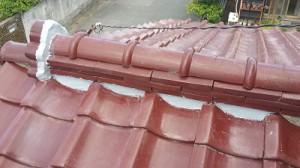 屋根補修工事。。。※久々の写真つき(笑)