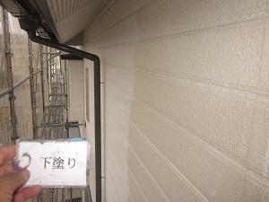 外壁の下塗りから上塗りまで