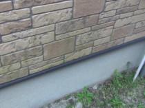 北 外壁 苔