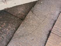 屋根ひび割れ