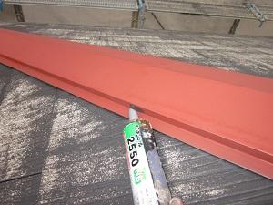 スレート瓦の塗装工程