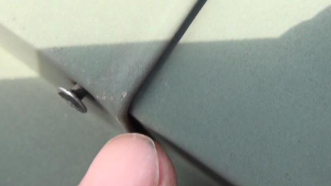 スレート瓦 棟板金の釘浮き現象について