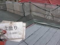 屋根 上塗り1回目2