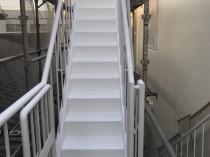 階段 錆止め2