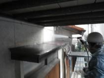 1外壁 高圧洗浄