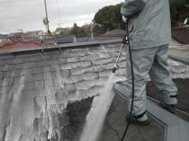 高圧洗浄屋根2