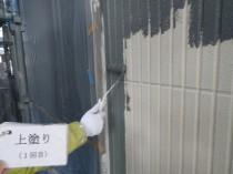 外壁上塗り1回目2