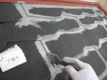 屋根下塗り1
