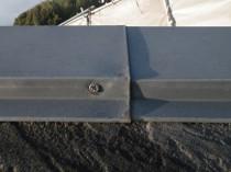 屋根鋼板ステンレスビオス打ち替え