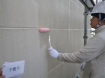外壁下塗り1