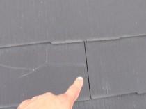 屋根 横ひび