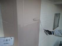 外壁上塗り2回目4